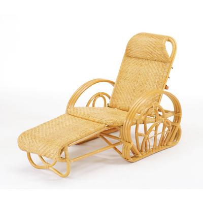 今枝商店 Romantic Rattan 三つ折寝椅子 A100