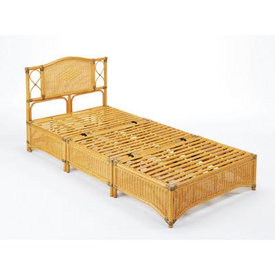 今枝商店 Romantic Rattan ベッド シングルサイズ Y918