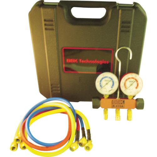 文化貿易工業 BBK R-410Aマニホールドキット チャージホース・ケースキット 410-PMK