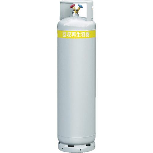 アサダ アサダ 一般フロン回収ボンベ フロートセンサーなし 117L 無記名 TF070