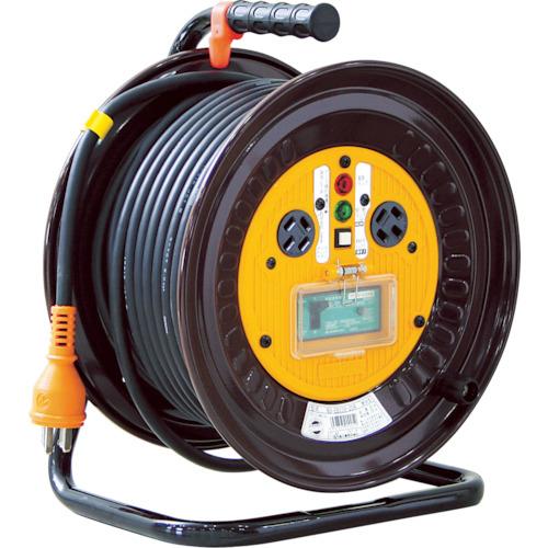 日動工業 日動 電工ドラム 三相200Vドラム アース漏電しゃ断器付 30m ND-EB330-20A