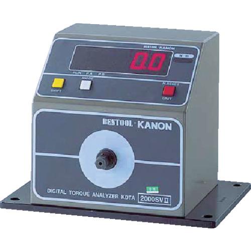 中村製作所 カノン 簡易型デジタル式トルクアナライザーKDTA-N200SVS KDTA2000SV2
