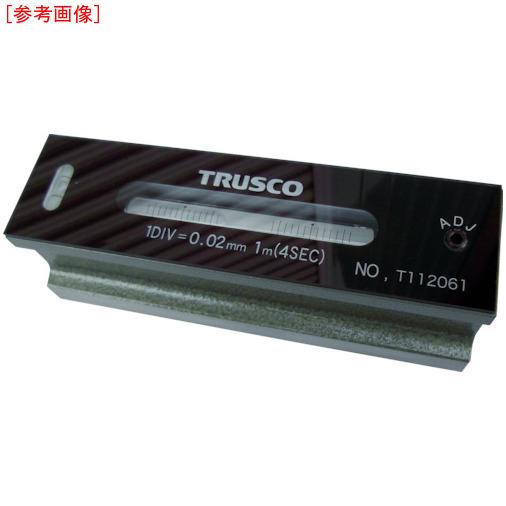 トラスコ中山 TRUSCO 平形精密水準器 B級 寸法250 感度0.05 TFL-B2505