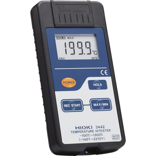 日置電機 HIOKI デジタル温度計 3442