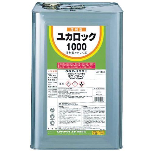 ロックペイント ロック ユカロック1000 みどり 15KG 082-1217