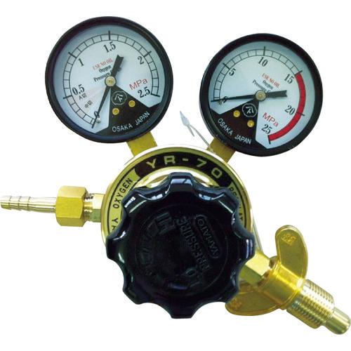 ヤマト産業 ヤマト 全真鍮製酸素調整器 YR-70(関西式) N-YR70-W