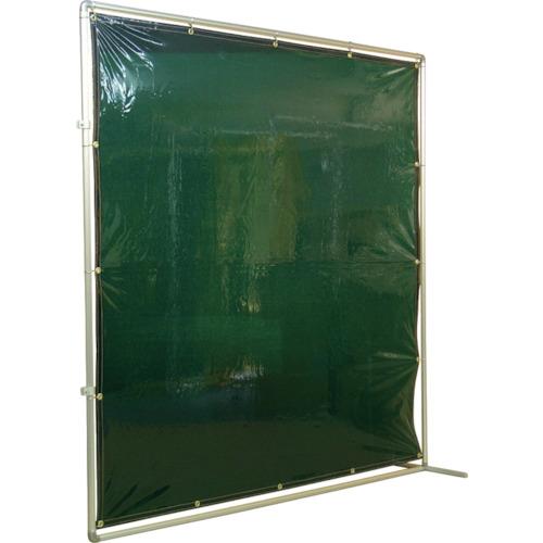 吉野 吉野 遮光フェンスアルミパイプ 2×2 接続固定 グリーン YS-22JF-G