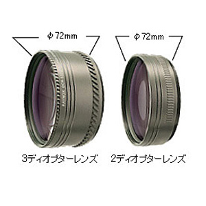 レイノックス レイノックス 大口径HDカメラ用コンバーションレンズ トリプルマクロレンズ DCR-5320PRO DCR-5320PRO【納期目安:1週間】