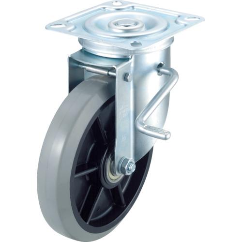 ワコーパレット ワコー エアーキャスター(自在車ストッパー付) 200mm ウレタン車 ASHG-200-GUDS ASHG-200-GUDS