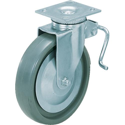 スガツネ工業 スガツネ工業 重量用キャスター径152自在ブレーキ付SE(200-133-383 31-406B-PSE
