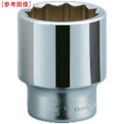 京都機械工具 KTC 19.0sq.ソケット(十二角) 80mm B40-80 B40-80