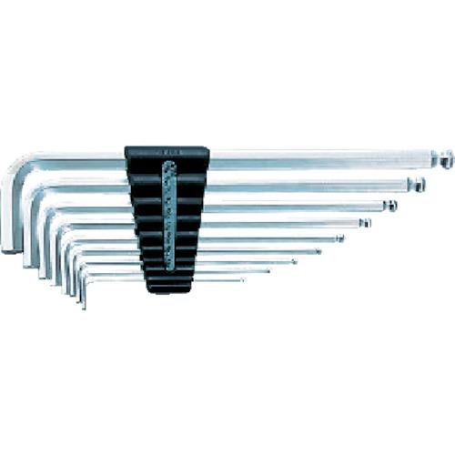 京都機械工具 KTC ハイグレードボールポイントL形ロング六角棒レンチセット[9本組] HLD2509B HLD2509B