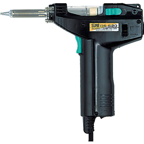 SURE ハンダ吸取器 電動タイプ (DS520) 石崎電機製作所 SURE ハンダ吸取器 電動タイプ DS-520