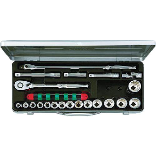 京都機械工具 KTC 12.7sq.ソケットレンチセット[21点] TB415BX
