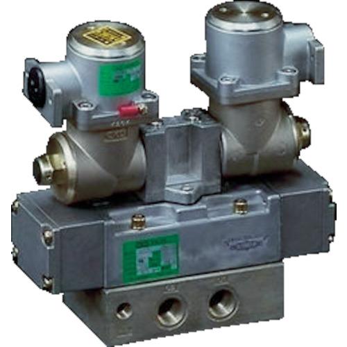 CKD CKD パイロット式 防爆形5ポート弁 4Fシリーズ(シングルソレノイド) 4F410E-10-TP-AC100V 4547431018762