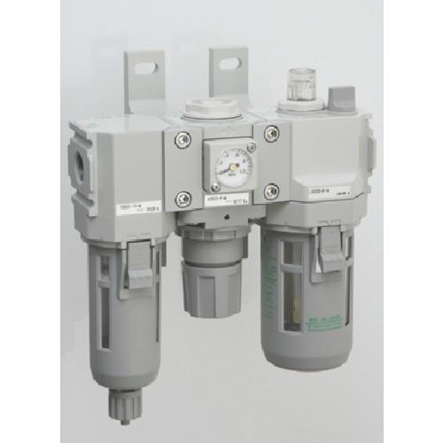 CKD CKD モジュラータイプセレックスFRL 2000シリーズ C2000-10-W-F1 C2000-10-W-F1