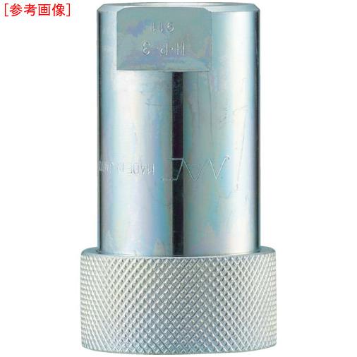 長堀工業 ナック クイックカップリング HP型 特殊鋼製 高圧タイプ オネジ取付用 CHP10S CHP10S