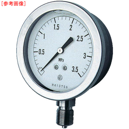 長野計器 長野 グリセン入圧力計 GV51-133-0.1MP GV51-133-0.1MP