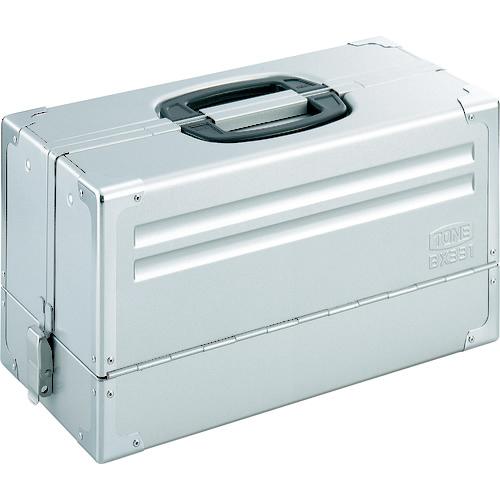 前田金属工業 TONE ツールケース(メタル) V形3段式 シルバー BX331SV BX331SV