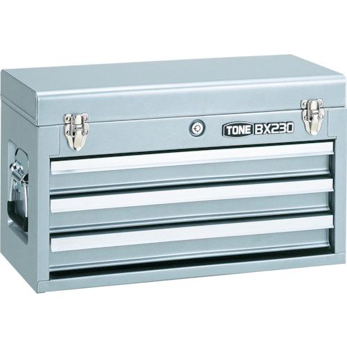 前田金属工業 TONE ツールチェスト 508X232X302mm シルバー BX230SV BX230SV