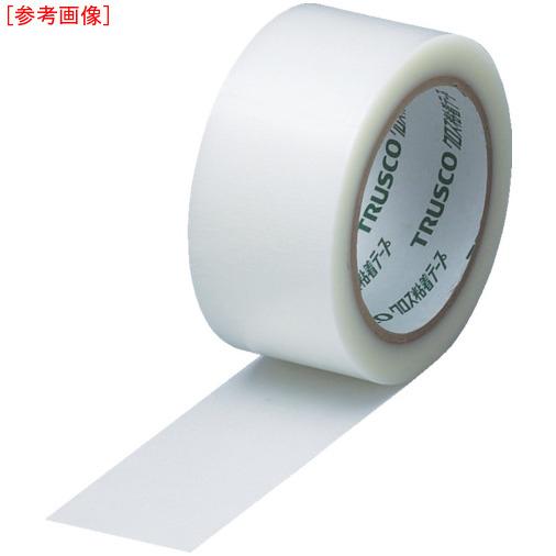 トラスコ中山 【30個セット】TRUSCO クロス粘着テープ 幅50mmX長さ25m クリア 透明 GCT-50