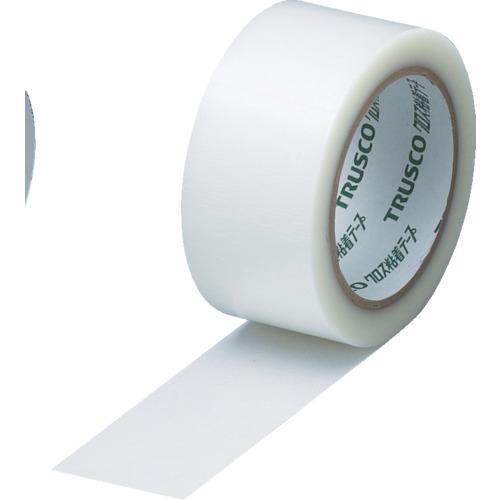 トラスコ中山 【60個セット】TRUSCO クロス粘着テープ 幅25mmX長さ25m クリア 透明 GCT-25
