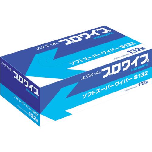 富士ペーパーサプライ エリエール エリエールプロワイプソフトスーパーワイパーS132BOX36個入 703130 703130