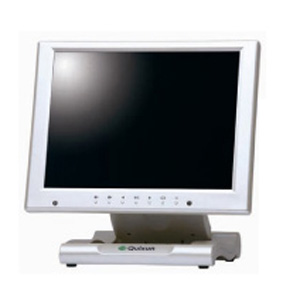 クイックサン 10.4インチXGA液晶ディスプレイ 保護フィルタ搭載タイプ パールホワイト QT-1007P(AVG)