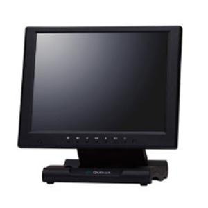 クイックサン 10.4インチXGA液晶ディスプレイ タッチパネル搭載タイプ ブラック QT-1007B(AVTP)