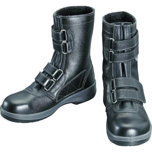 シモン シモン 安全靴 長編上靴 7538黒 27.0cm 7538BK-27.0
