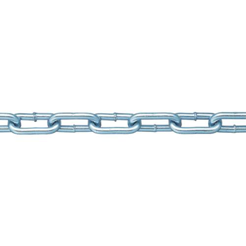 ニッサチェイン ニッサチェイン 鉄ユニクロ溶接リンクチェイン 5.5mm×30m IW2055 IW2055