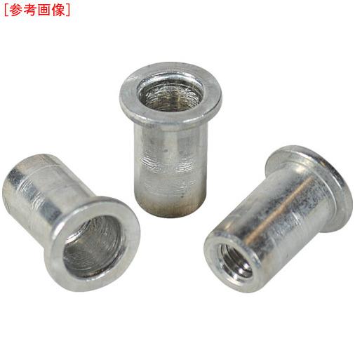 ロブテックス エビ ナット (500本入) Dタイプ アルミニウム 8-4.0 NAD840M