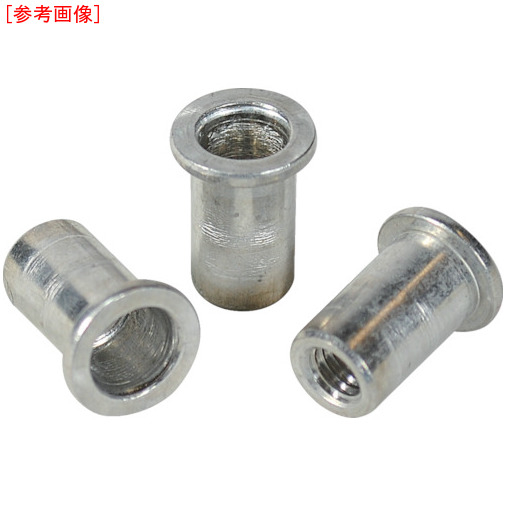 ロブテックス エビ ナット Dタイプ アルミニウム 10-2.5 (500個入) NAD1025M