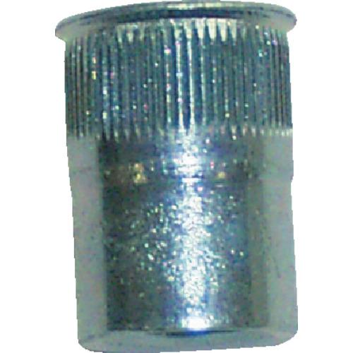 ポップリベットファスナーPO POP ポップナットローレットタイプスモールフランジ(M5) (1000個入) SFH-515-SF