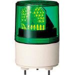 パトライト パトライト RLE型 LED超小型回転灯 Φ82 RLE-100-G (RLE100G) RLE-100-G