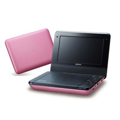 ソニー 7インチポータブルDVDプレーヤーオーディオDSP搭載(ピンク) DVP-FX780-P【納期目安:約10営業日】