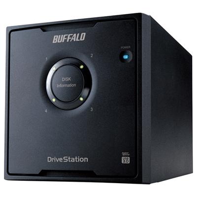 バッファロー ドライブステーションRAID5機能USB3.0用外付けハードディスク4ドライブ16TB(HDQL16TU3/R5J) HD-QL16TU3/R5J【納期目安:追って連絡】