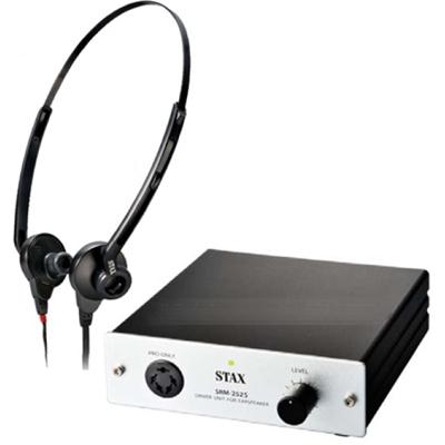 STAX イン・ザ・イヤースピーカー・システム 据え置き型ヘッドホンアンプとヘッドホンをセットにしたモデル SRS-005SMK2
