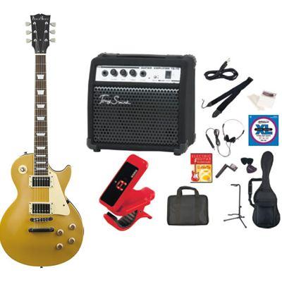 PhotoGenic(フォトジェニック) PhotoGenic フォトジェニック エレキギター TG75 アンプセット LP-260/GD ゴールド LP260GD-TG75