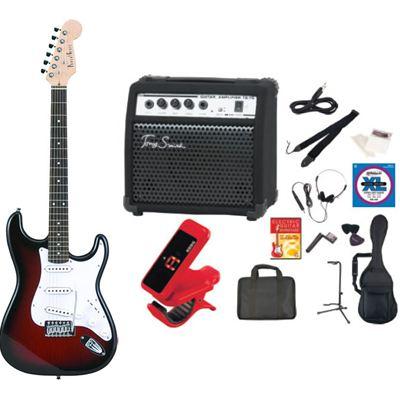 PhotoGenic(フォトジェニック) PhotoGenic フォトジェニック エレキギター TG75 アンプセット ST-180/RDS レッドサンバースト ST180RDS-TG75