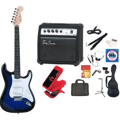 PhotoGenic(フォトジェニック) PhotoGenic フォトジェニック エレキギター TG75 アンプセット ST-180/BLS ブルーサンバースト ST180BLS-TG75