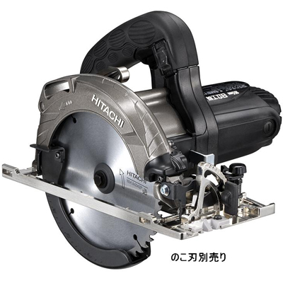 HiKOKI(日立工機) 深切り丸のこ アルミベース (のこ刃別売り) C6MBYA2-NB