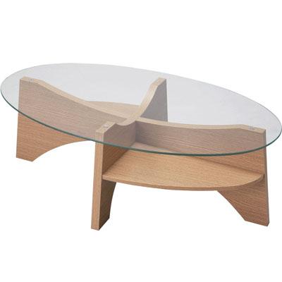 東谷(あづまや) オーバルテーブル LE-454NA