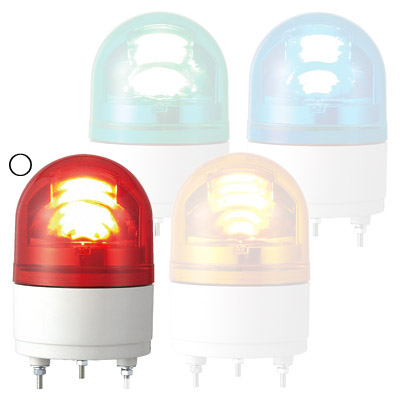 パトライト LED小型回転灯 RHE-200-R(LED)