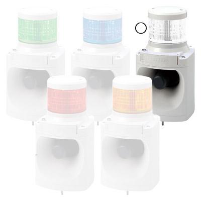 パトライト LED積層信号灯付電子音報知器 LKEH-102FE-C【納期目安:1週間】