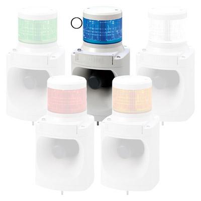 パトライト LED積層信号灯付電子音報知器 LKEH-110FA-B【納期目安:1週間】