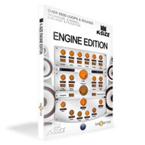 クリプトン・フューチャー・メディア K-SIZE ENGINE EDITION ソフトウェア音源(テックハウス~ミニマル) BS455【納期目安:1週間】