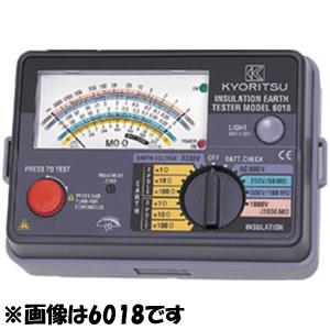 共立電気計器 アナログ絶縁・接地抵抗計 6018F 4560187062308