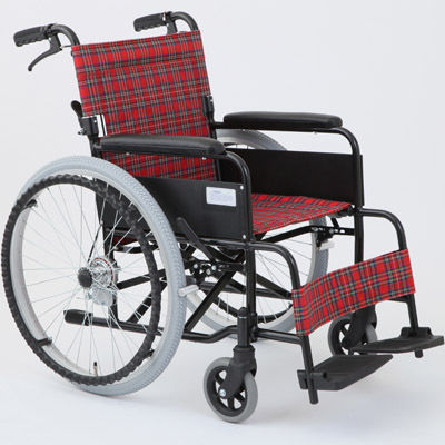 MIWA MW-22A ? N(ノーパンク仕様) 車椅子 ルビーレッド OTM-19210