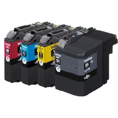 ブラザー インクカートリッジ LC119/115-4PK (LC119/1154PK) LC119/115-4PK【納期目安:追って連絡】